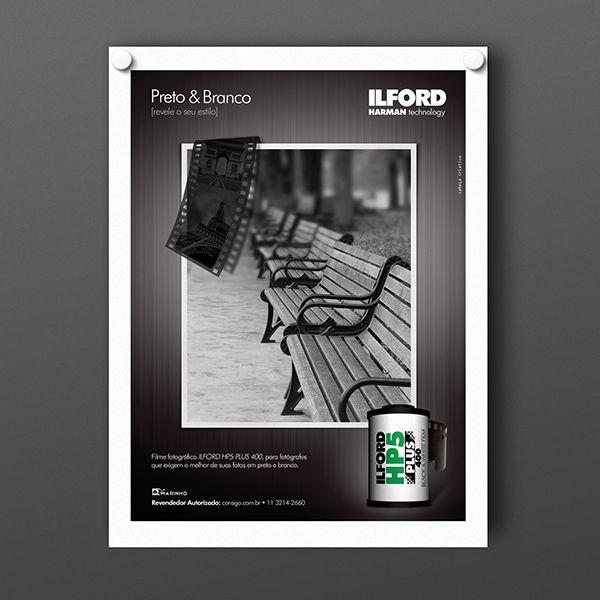 Criação de Anúncio para Ilford