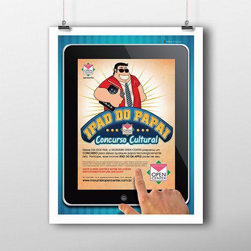 Desenvolvimento de Campanha Publicitária para o Shopping Open Center Morumbi