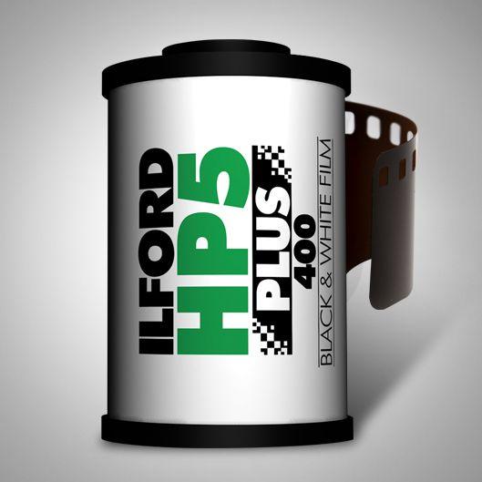 3D - Ilford HP5 PLUS 400 Black & White Film