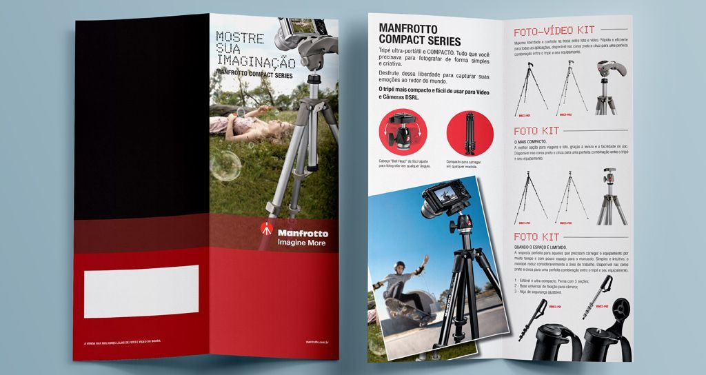 Folde Manfrotto Compact Series