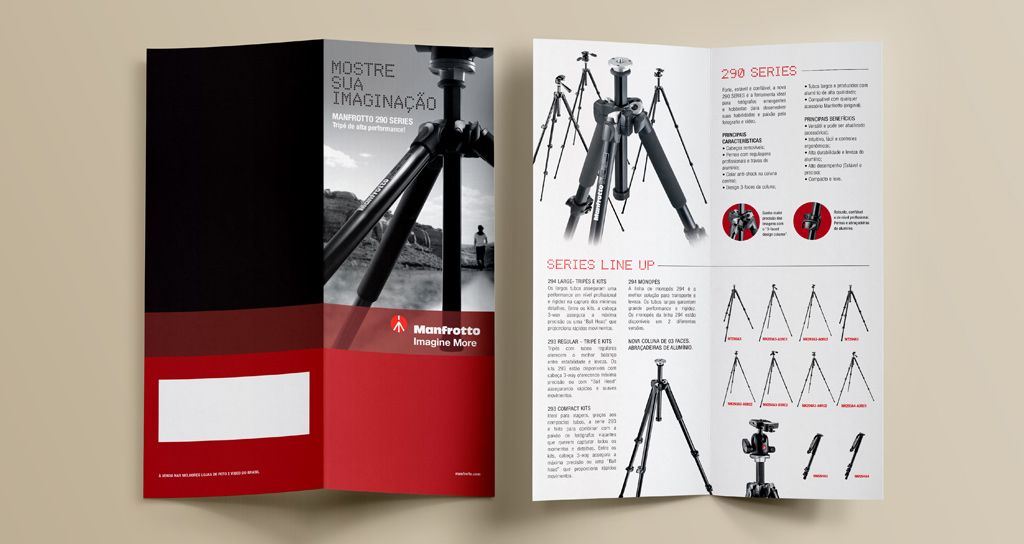 Folder Manfrotto 290 Series