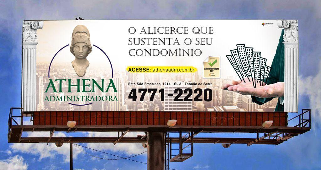Material Publicitário - Athena Adm