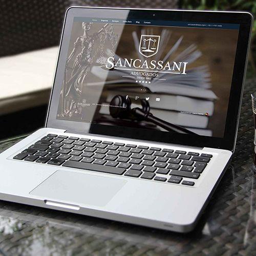 Website - Sancassani Advogados