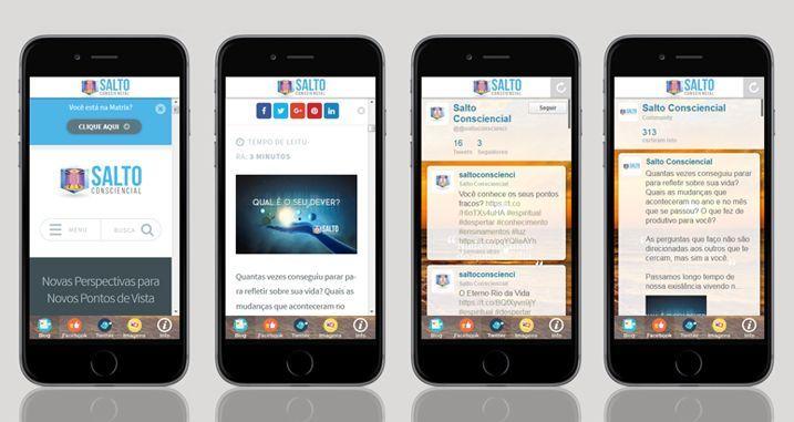 App Mobile Salto Consciencial