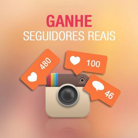 Bombe seu Instagram com Seguidores Reais