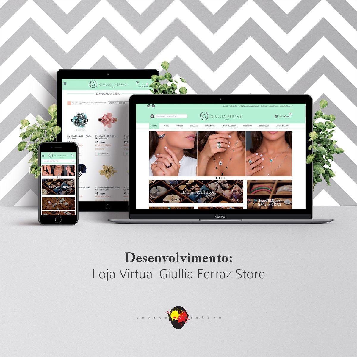 Loja Virtual Giullia Ferraz Store