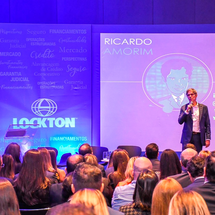 Backdrop evento Lockton Brasil