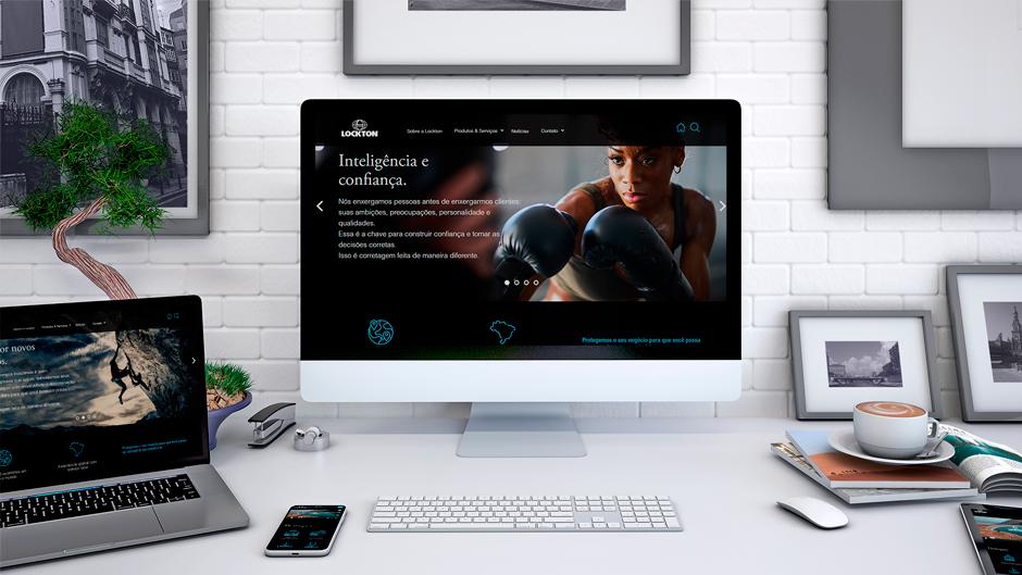 Desenvolvimento de Website Institucional para Lockton Brasil