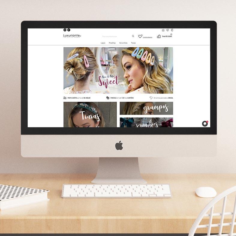 Loja Virtual Luxuriante Store